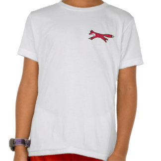 Camiseta de la clase del Fox, blanco, muchachos Playeras