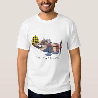 Camiseta de la cola del inspector P-40 Playera