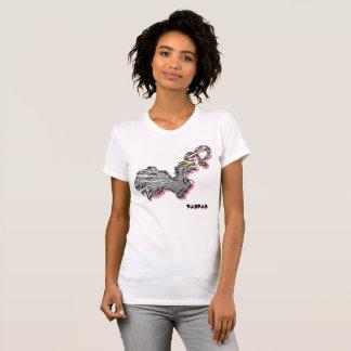 Camiseta de la colección del pie de los conejos de remera