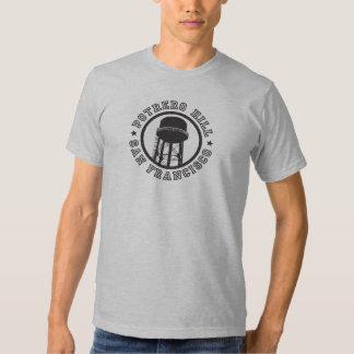 Camiseta de la colina de Potrero Poleras