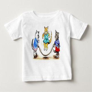 Camiseta de la comba de los gatos camisas