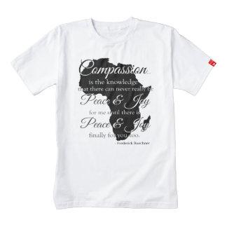 Camiseta de la compasión de África Playera Zazzle HEART