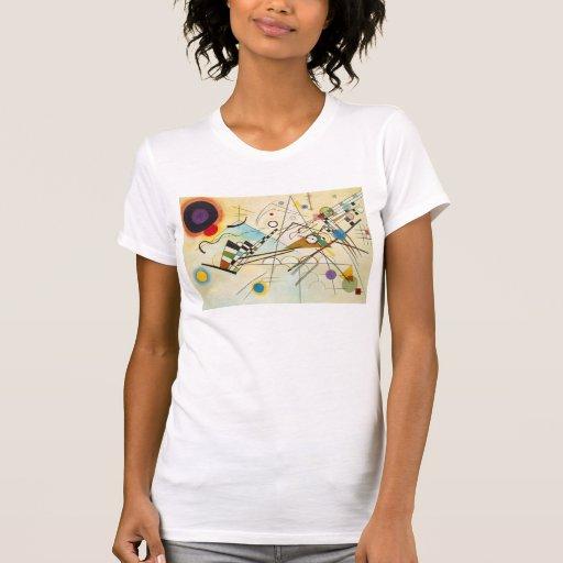 Camiseta de la composición VIII de Kandinsky