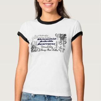 Camiseta de la conciencia de la artritis playeras