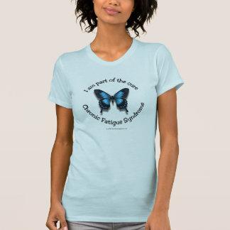 Camiseta de la conciencia del CFS - colores en Playeras