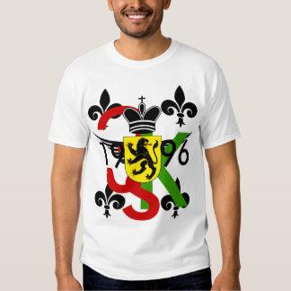 camiseta de la corona del león 3Kings Playera