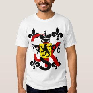 camiseta de la corona del león 3Kings Polera