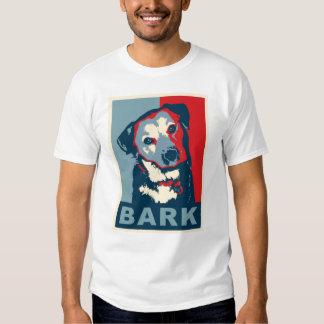 Camiseta de la corteza remeras