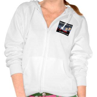 Camiseta de la cremallera de NosillaCast Sudadera Pullover