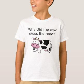 Camiseta de la criba de la vaca camisas
