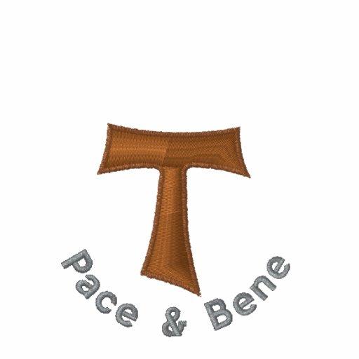 Camiseta de la cruz de Tau