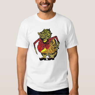Camiseta de la cultura de Wayang Indonesia Camisas