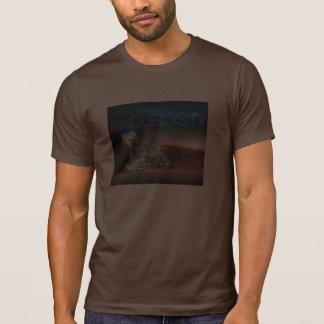 Camiseta de la curiosidad de Marte