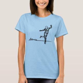 Camiseta de la danza de golpecito (cabida)