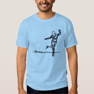 Camiseta de la danza de golpecito poleras