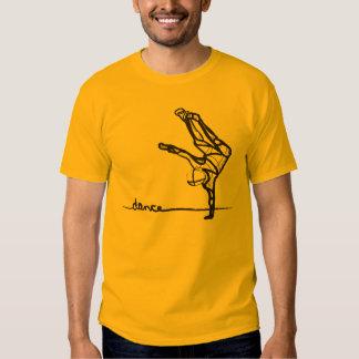 Camiseta de la danza de Hip Hop Playeras