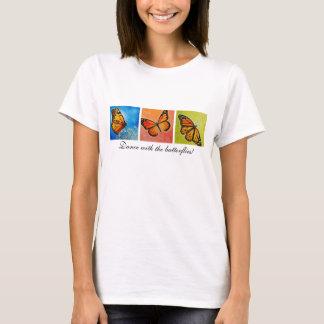 Camiseta de la danza de la mariposa