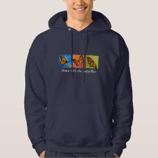 Camiseta de la danza de la mariposa sudaderas con capucha