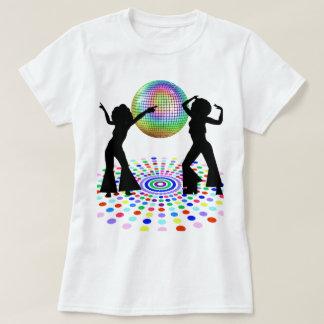 Camiseta de la danza del disco playera