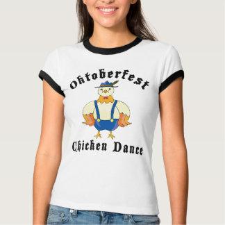Camiseta de la danza del pollo de Oktoberfest Polera
