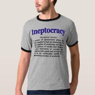 Camiseta de la definición de Ineptocracy Remera