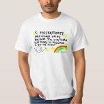 Camiseta de la dilación camisas