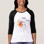 Camiseta de la diva de la yoga