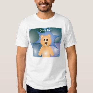 Camiseta de la diversión de Beary Beary Playeras