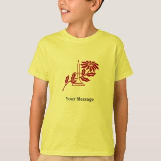 Camiseta de la diversión del día de fiesta del polera