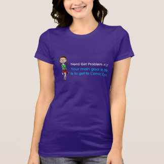Camiseta de la diversión del PROBLEMA #17 del