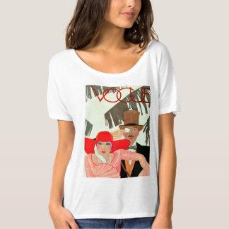 Camiseta de la diversión FashionMagCoverJune1928 Playera