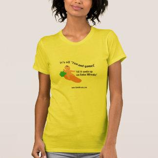 """Camiseta de la """"diversión y de los juegos"""" remeras"""