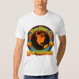 Camiseta de la dominación del mundo camisas