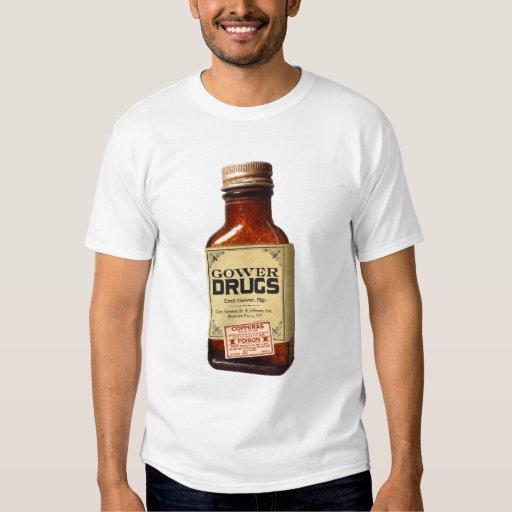 Camiseta de la droga de Gower Playera