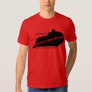 Camiseta de la ducha de la carne de Kentucky Camisas