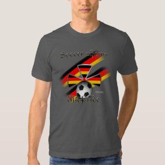 Camiseta de la Eco-Mezcla de los hombres alemanes Remeras