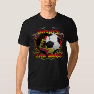 Camiseta de la Eco-Mezcla de los mejores hombres Playera