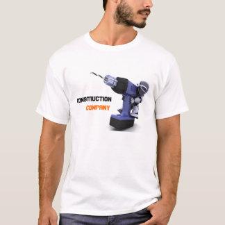Camiseta de la empresa de la construcción
