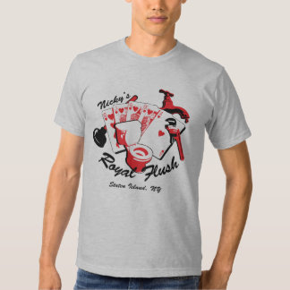 Camiseta de la escalera real de Nicky Playeras