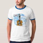 "Camiseta de la ""escalera secreta"" de la cruz de playera"