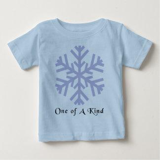 Camiseta de la escama de la nieve del navidad playeras