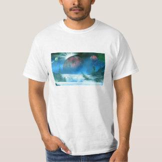Camiseta de la escena de la naturaleza