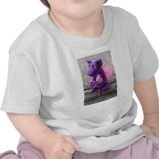 Camiseta de la escultura del dragón