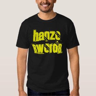 Camiseta de la espada de Hanzo Playeras