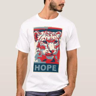 Camiseta de la esperanza de la onza