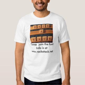 camiseta de la Estante-uno-tachuela Playera