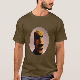 Camiseta de la estatua de Moai