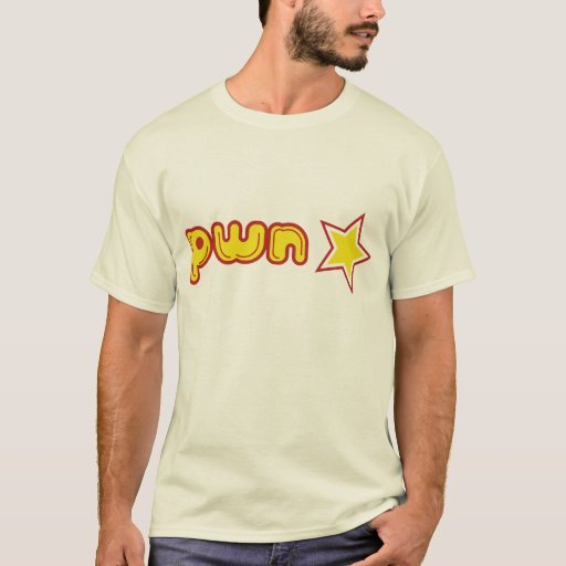 Camiseta de la estrella de Pwn