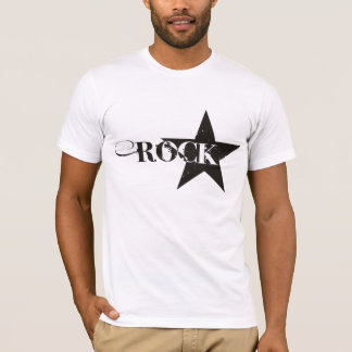 Camiseta de la estrella del rock