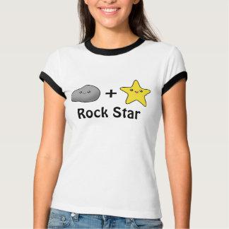 Camiseta de la estrella del rock 2 de Kawaii Playera